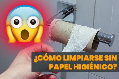 ¿Cómo Limpiarse sin Papel Higiénico? - Jasmin_Sessler para Pixabay.com