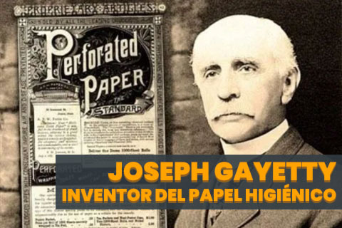Joseph Gayetty, el Inventor